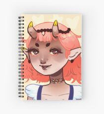 Devil babe Spiral Notebook