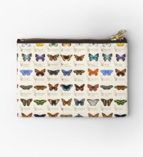 Butterflies of North America Studio Pouch