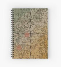 Here there be robots Spiral Notebook