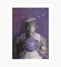 MICHAEL JORDAN SPACE JAM Art Print