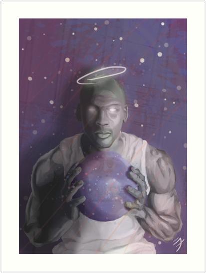 MICHAEL JORDAN SPACE JAM by Jack Millikin