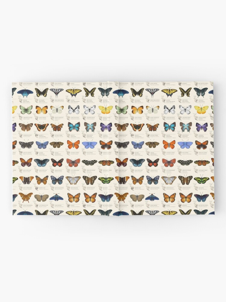Alternate view of Butterflies of North America Hardcover Journal