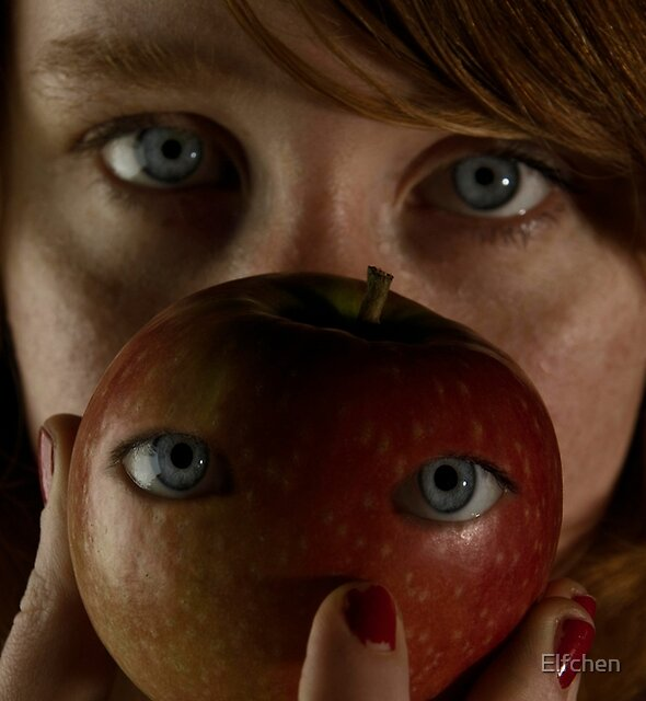 Apple's Eyes by Elfchen