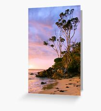 First Light at Cocora Beach Greeting Card