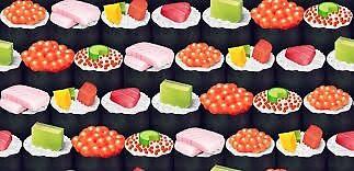 Small sushi pattern! by Bayanihan