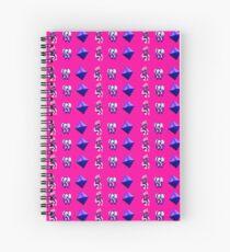 Pixel Angels Spiral Notebook