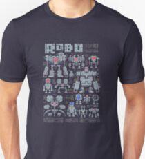 Robo Pixels Unisex T-Shirt