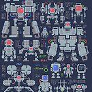 Robo Pixels by wuhu