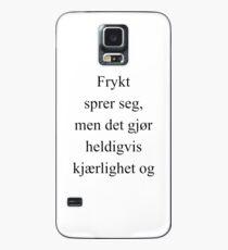 Kjærlighet - Skam Case/Skin for Samsung Galaxy