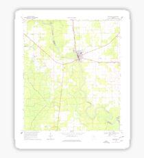 USGS TOPO Map Florida FL Branford 345301 1968 24000 Sticker