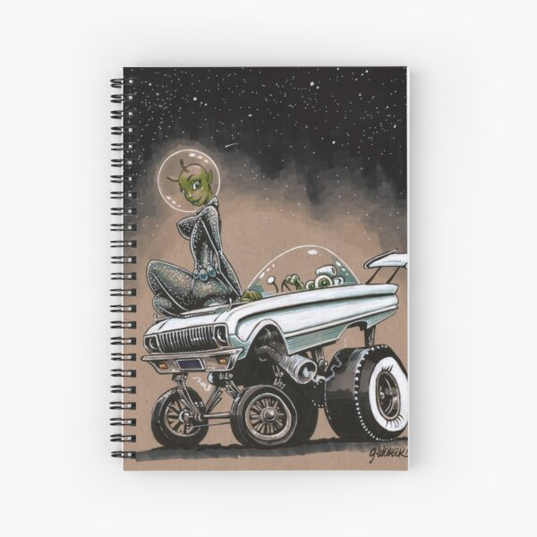 Millennium Falcon Spiral Notebook
