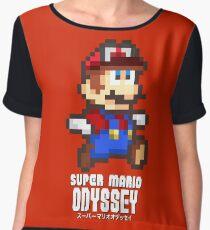 Super Mario Odyssey - Pixel Art! Chiffon Top