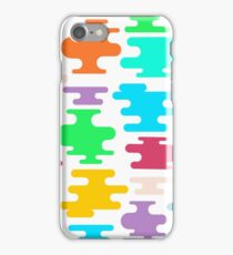 Fun Colorful Shapes iPhone Case/Skin