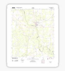 USGS TOPO Map Florida FL Branford 20120730 TM Sticker