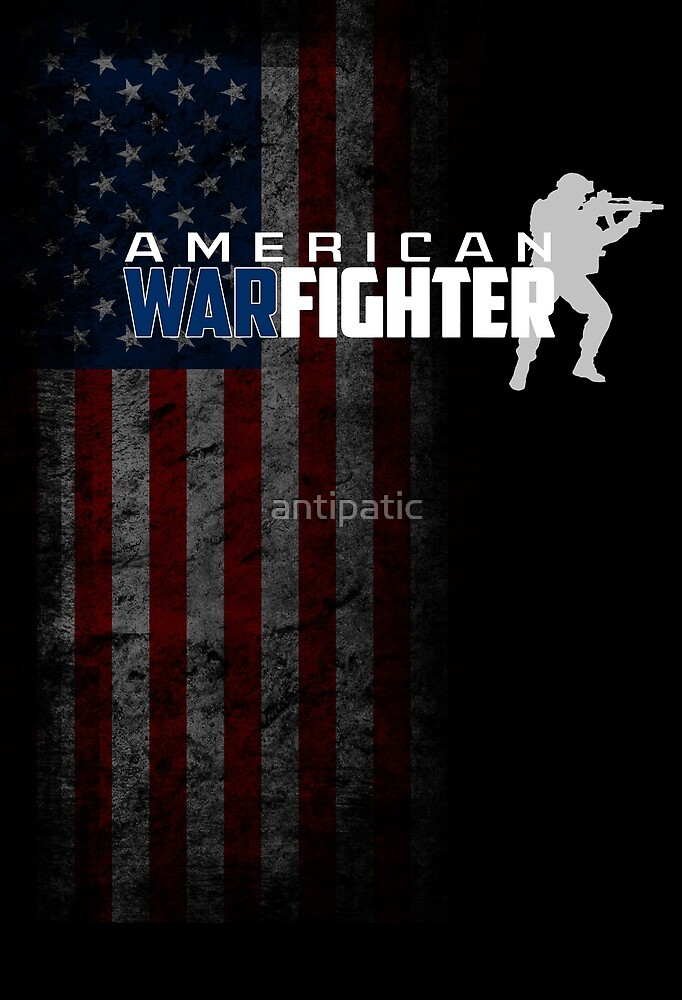 AMERICAN WAR FIGHTER by antipatic