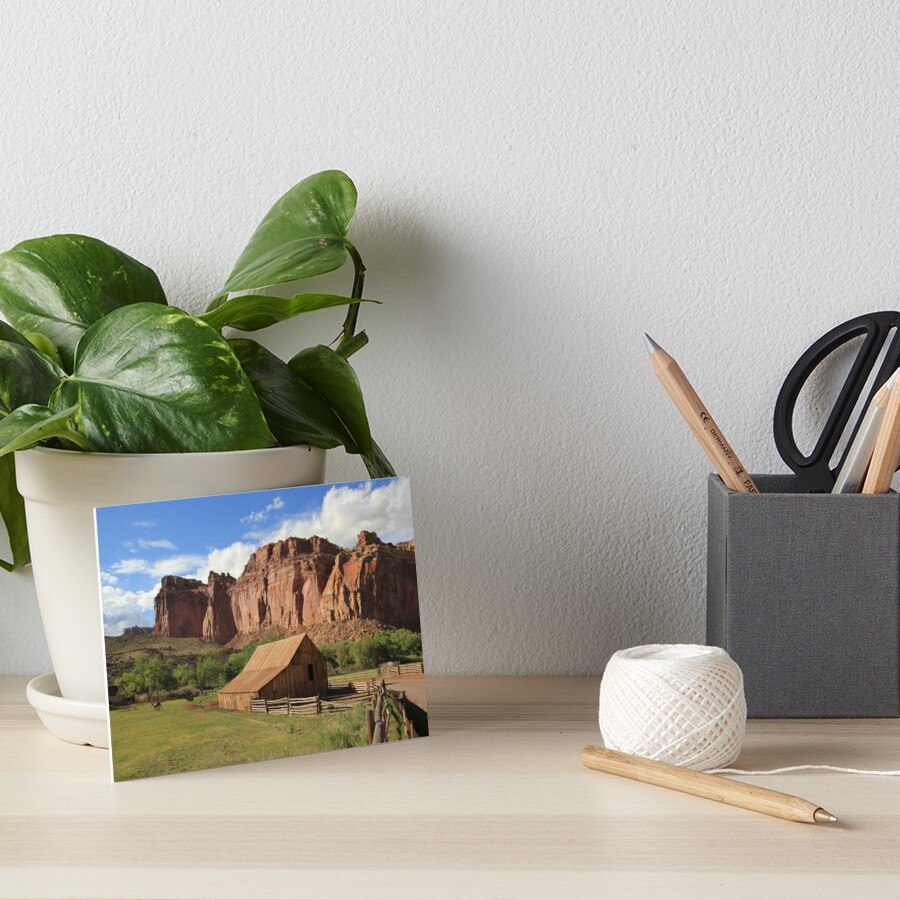 USA Utah Capitol Reef Barn by eickys