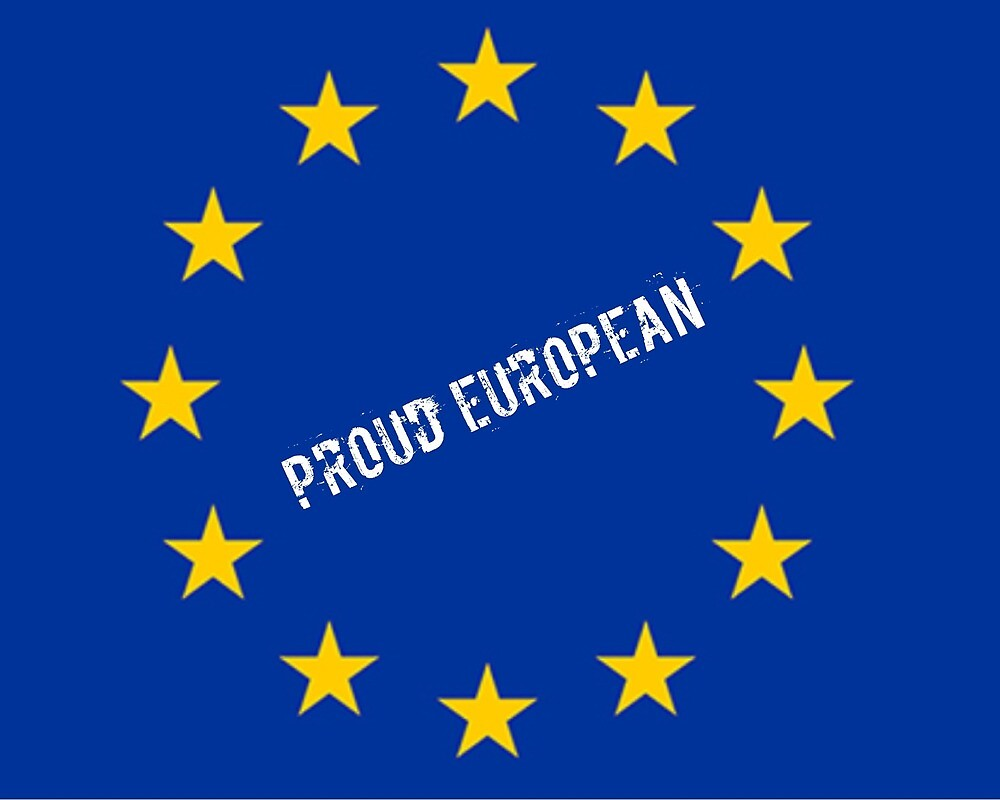 Proud European  by MworldTee