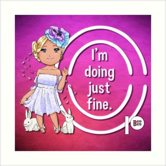 Ostara Says I'm Doing Just Fine by bayobayo