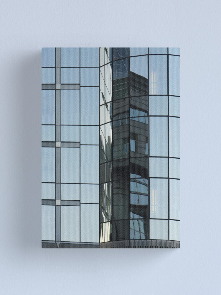 Alternate view of Glass & Lines Canvas Print