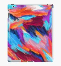 Bright Abstract Brushstrokes iPad Case/Skin