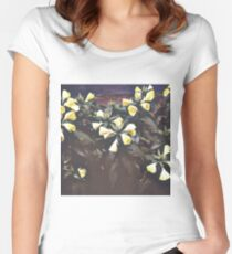 Beautiful flowers Women's Fitted Scoop T-Shirt