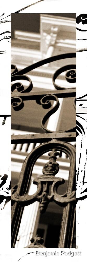 Charleston, Vertical Sepia #1 by Benjamin Padgett