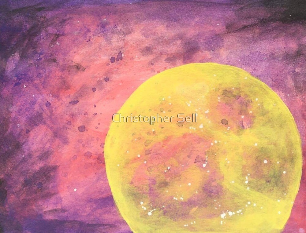Moonlit Galaxy by Christopher Sell