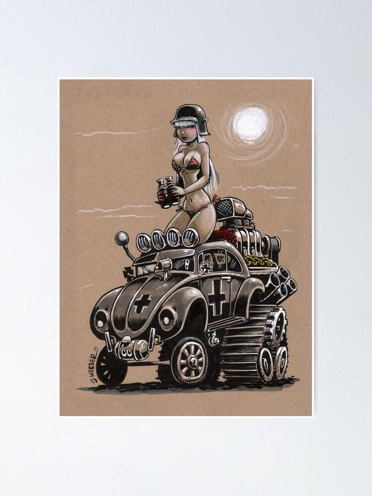 Alternate view of Desert Bettle Poster