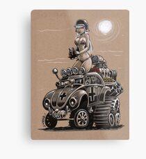 Desert Bettle Metal Print