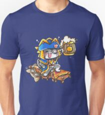 MONSTER HUNTER DRUNK CAT T-Shirt