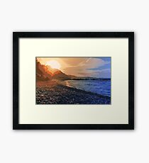 Water and Fire  Framed Print