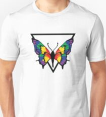 GAY PRIDE butterfly Unisex T-Shirt