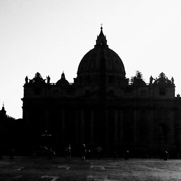 St. Peter basilica in Rome by emmepi
