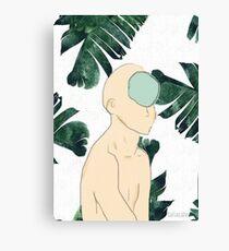Lost in the Jungle Canvas Print