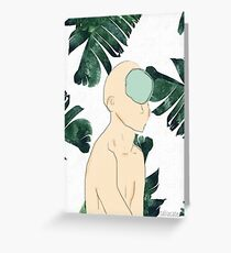 Lost in the Jungle Greeting Card