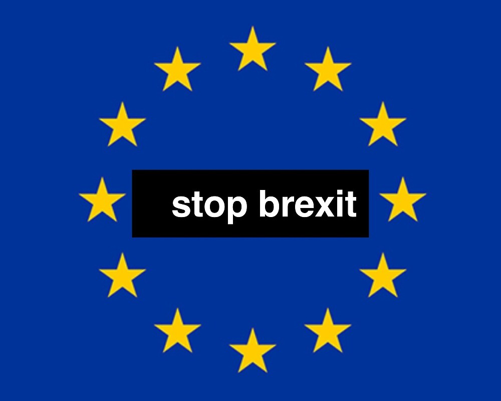 Stop Brexit by MworldTee