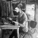s at her studio by MrLone