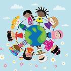 Happy Meitlis - Around the World von WACHtraum
