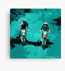 Motorsport  Canvas Print