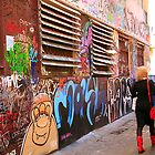 Rutledge Lane, Melbourne, VIctoria, Australia  by rosina lamberti