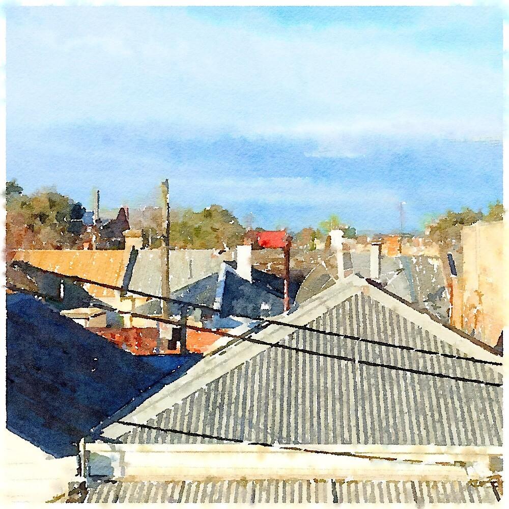 Carlton Rooftops by AspectJones