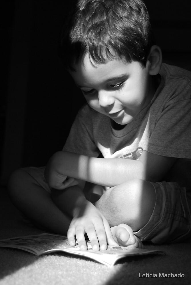 A Young Reader by Leticia Machado