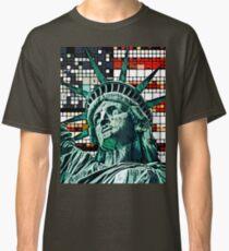 Patriotic Statue of Liberty Classic T-Shirt