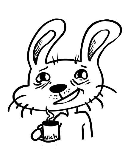 Coffee Rabbit by Jadekingfisher