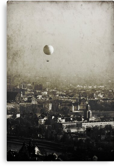 Flying over you by Dominika Aniola