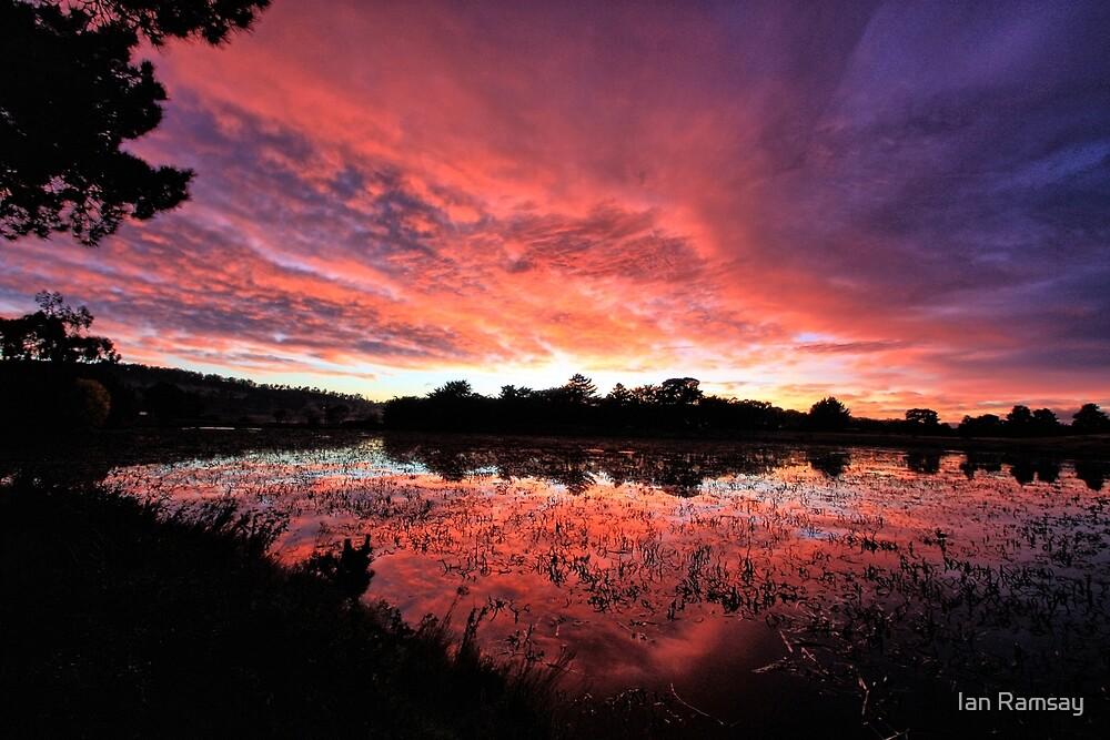 Lake Dulverton. by Ian Ramsay