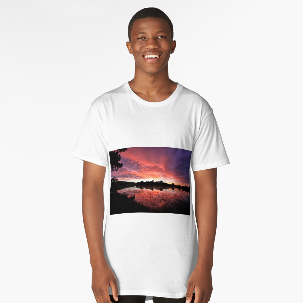 Lake Dulverton. Long T-Shirt Front