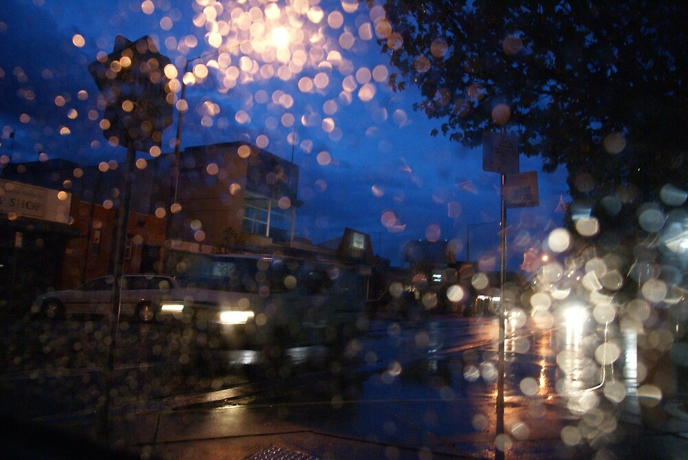 rainy nights in the car by Lilyrrose