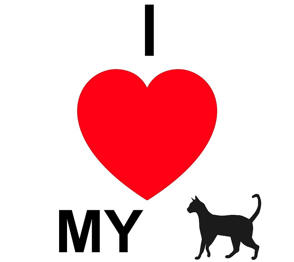 I ♥ my cat by Sayc1