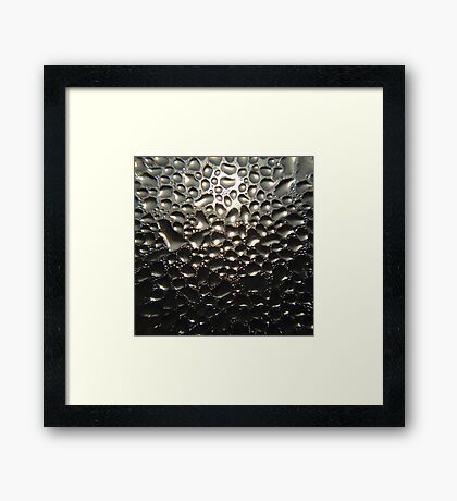 Baby, it's cold outside... Framed Print